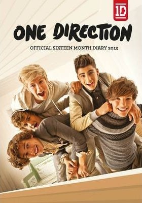 Official One Direction (A6) Diary
