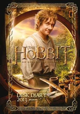 Official The Hobbit (A6) 2013 Diary