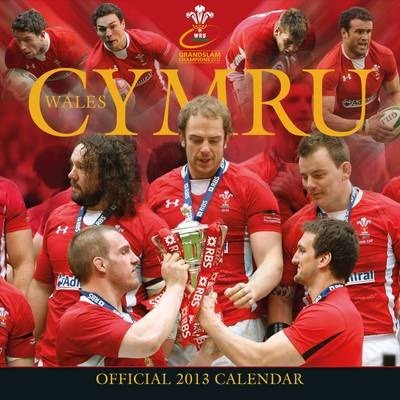 Official Welsh Rugby Union 2013 Square Calendar