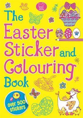 Easter Sticker and Colouring
