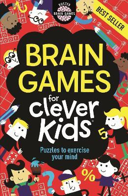 Brain Games For Clever Kids Cover Image