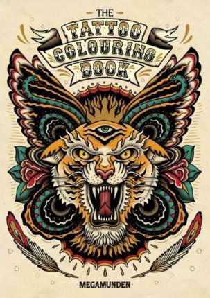 the tattoo colouring book - Tattoo Coloring Book Pdf