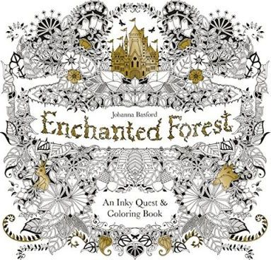 Enchanted Forest Johanna Basford 9781780674889