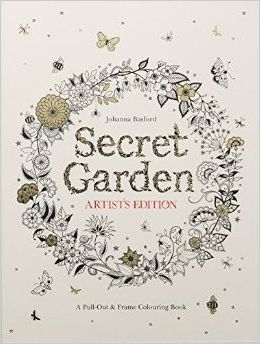 Secret Garden Artists Edition A Pull Out And Frame