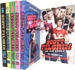 Scott Pilgrim Collection: Scott Pilgrim's Precious Little Life, Scott Pilgrim Vs the World, Scott Pilgrim and the Infinite Sadness, Scott Pilgrim Gets it Together,Scott Pilgrim Vs the Universe & Scott Pilgrim's Finest Hour v. 1-6