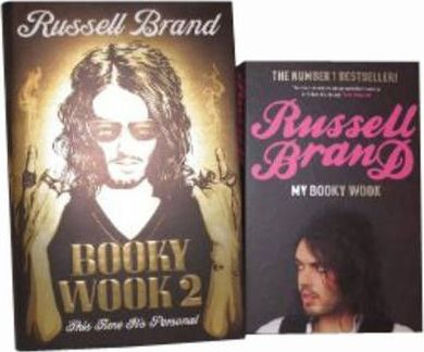 Russell Brand Collection Set: WITH My Booky Wook (Paperback) AND Booky Wook 2: This Time it's Personal (Hardcover)