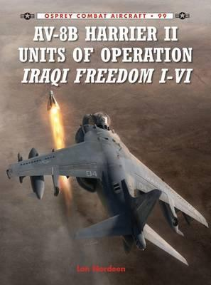 AV-8B Harrier II Units of Operation Iraqi Freedom I-VI