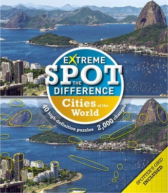 Extreme Spot-the-Difference Cities