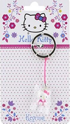 HELLO KITTY FOLKSY KEYRING