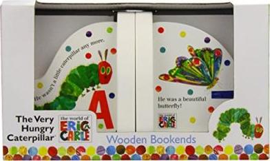 HUNGRY CATERPILLAR BOOKENDS