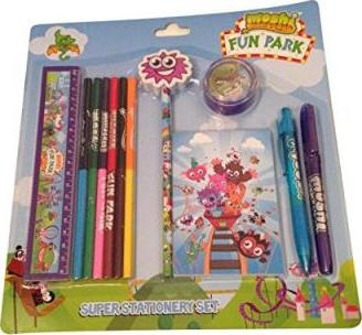 MOSHI MONSTERS SUPER STATIONERY SET