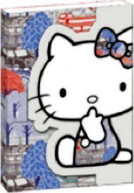 HELLO KITTY LIBERTY LONDON A5 NOTEBOOK