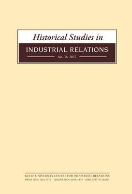 industrial relations history German industrial relations exhibit strong juridical ties based on legislation and case law the most characteristic feature is the 'dual system of interest representation' based.