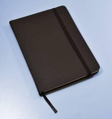monsieur notebook leather journal black plain medium a5 monsieur