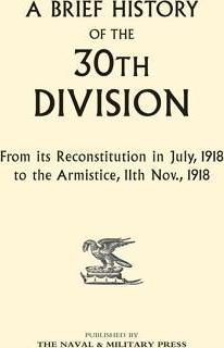 A Brief History of the 30th Division