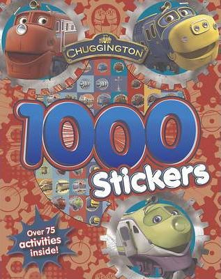 Chuggington 1000 Stickers Book