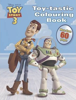 Disney Pixar Toy Story 3 Toytastic Colouring Book