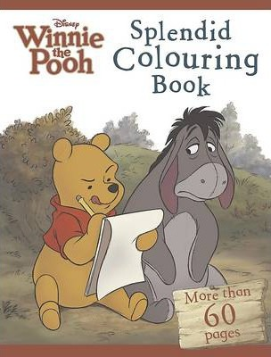 Disney Winnie the Pooh the Movie Splendid Colouring Book