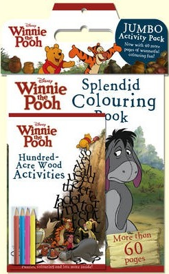 Disney Winnie the Pooh the Movie Jumbo Activity Pack