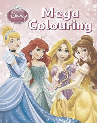 Disney Princess Mega Colouring Book