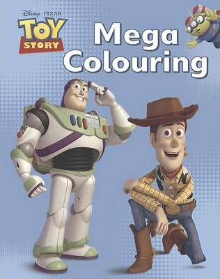 Disney Toy Story Mega Colouring Book