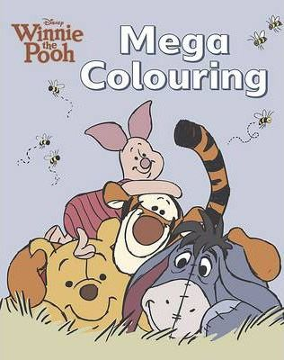 Disney Winnie the Pooh Mega Colouring Book