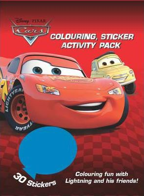 Disney Cars Colouring and Activity Sticker Pack