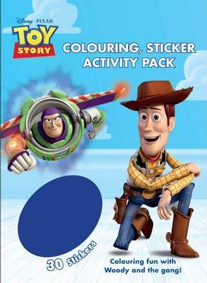 Disney Toy Story Colouring & Activity Sticker Pack
