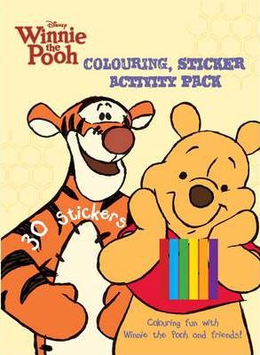 Disney Winnie the Pooh Colouring & Activity Sticker Pack