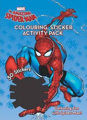 Marvel Spider-Man Colouring & Activity Sticker Pack