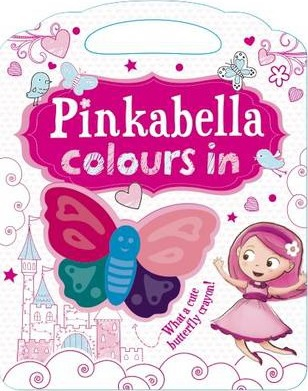 Pinkabella Colours in - Activity Book