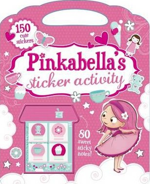 Pinkabella's Sticker Activity Book