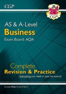 New A-Level Business: AQA Year 1 & 2 Complete Revision & Practice