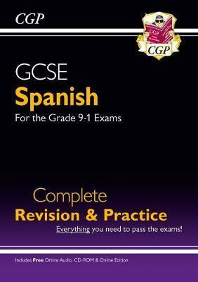 New GCSE Spanish Complete Revision & Practice (with CD & Online Edition) - Grade 9-1 Course