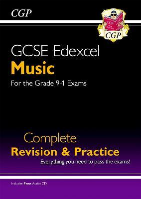 GCSE Music Edexcel Complete Revision & Practice (with Audio CD) - for the Grade 9-1 Course Cover Image