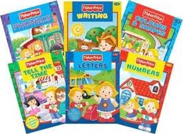 Fisher Price Learning Books Pack with Carry Case