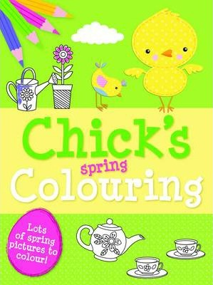 Spring Colouring Chick