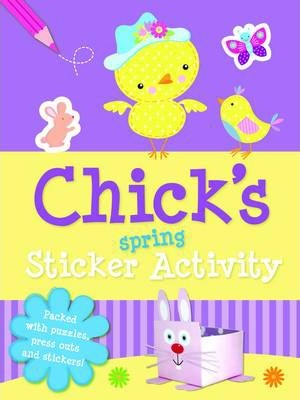 Spring Sticker Activity Chicks