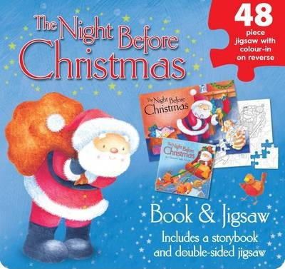 The Night Before Christmas Jigsaw Set