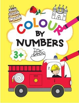 Colour by Numbers 3+ Yellow