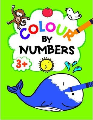 Colour by Numbers 3+ Green