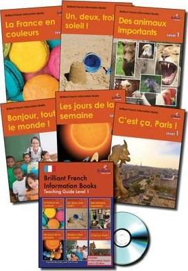 Brilliant French Information Books pack - Level 1 : A graded French non-fiction reading scheme for primary schools