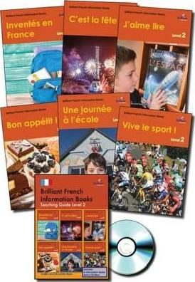 Brilliant French Information Books pack - Level 2 : A graded French non-fiction reading scheme for primary schools