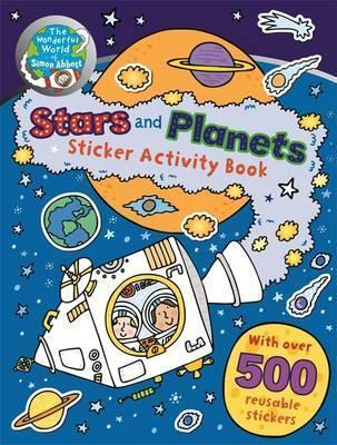 Stars and Planets Sticker Activity Book