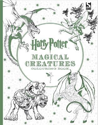 harry potter magical creatures colouring book - Picture For Colouring