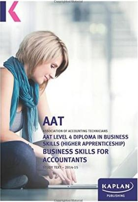 Business Skills for Accountants (Level 4) - Text
