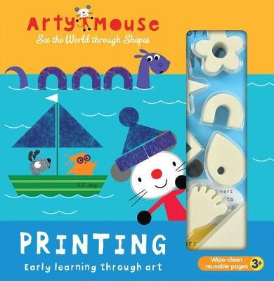 Arty Mouse - Printing by Mandy Stanley