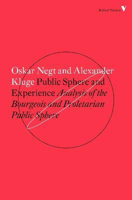 PUBLIC SPHERE AND EXPERIENCE EBOOK