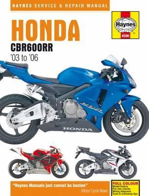 honda cbr600rr service and repair manual haynes publishing rh bookdepository com Honda 600 Motorcycle Honda 600RR