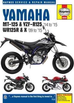 yamaha mt 125 yzf r125 wr125r x 09 15 matthew coombs rh bookdepository com